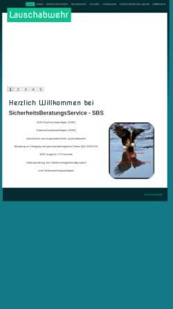 Vorschau der mobilen Webseite www.sicherheitsberatungsservice.de, SicherheitsBeratungsService