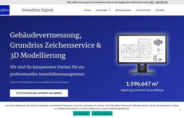 Vorschau von grundriss-digital.com, Grundriss Digital