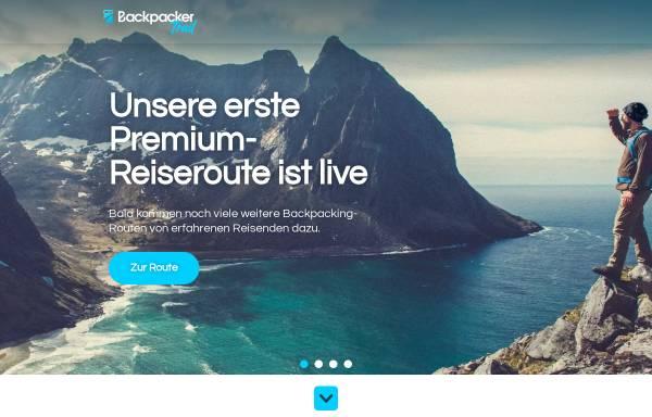 Vorschau von www.backpackertrail.de, Backpackertrail