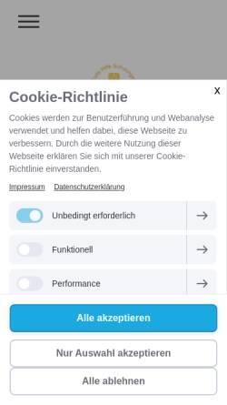 Vorschau der mobilen Webseite www.erste-hilfe-gardi.de, Erste Hilfe Schulungen und MPU Vorbereitung