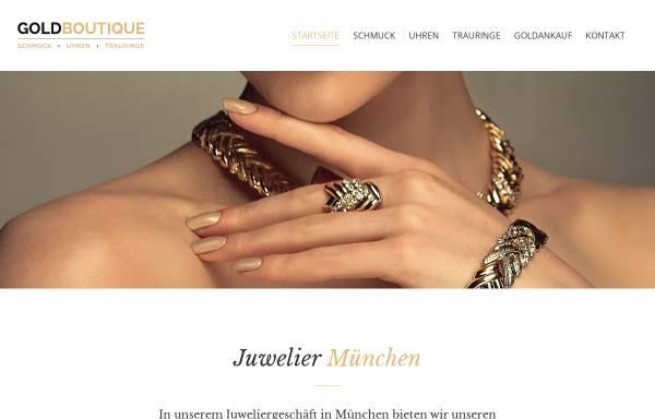 Vorschau von die-goldboutique.de, Goldboutique