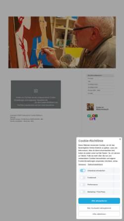 Vorschau der mobilen Webseite www.rpetzinger.de, Kunstmaler Rudolf Petzinger