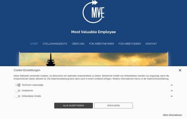 Vorschau von mveportal.de, MVE - Most Valuable Employee