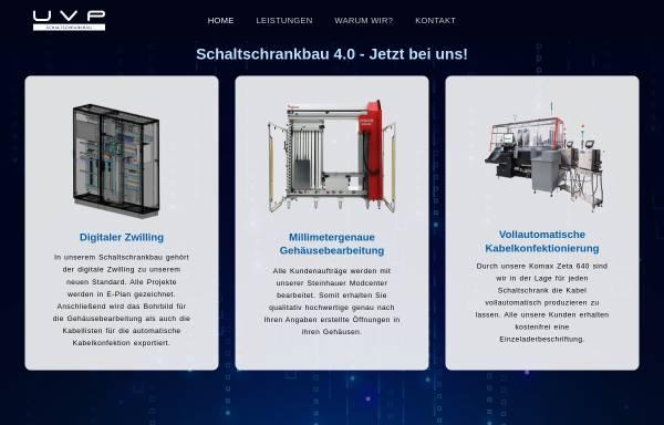 Vorschau von uvp-schaltschrankbau.de, UVP Schaltschrankbau