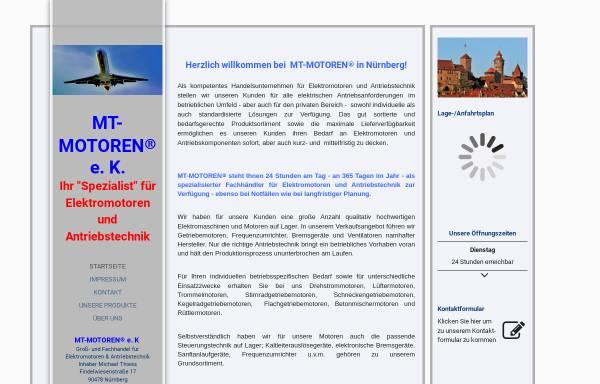 Vorschau von www.mt-motoren.trade, MT-MOTOREN® e.K. - Inhaber Michael Thiess