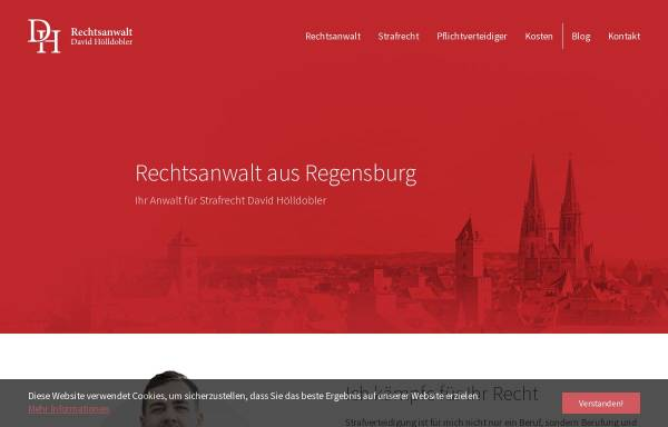 Vorschau von www.rechtsanwalt-hoelldobler.de, Rechtsanwalt David Hölldobler