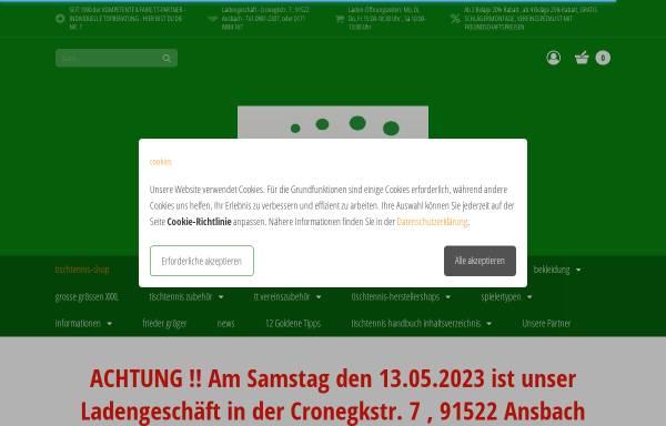 Vorschau von www.frieders-tt-eck.com, Frieders-TT-Eck