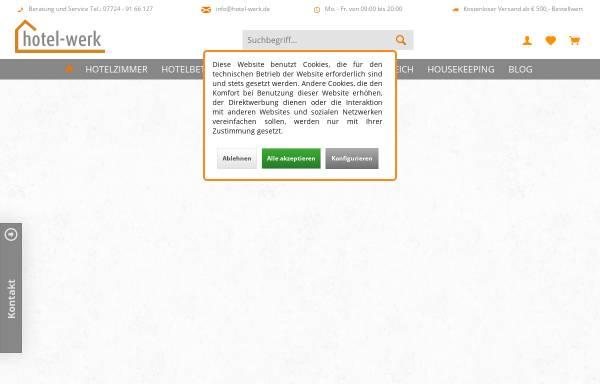 Vorschau von www.hotel-werk.de, hotel-werk
