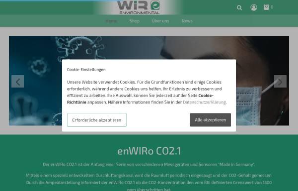 Vorschau von www.enWIRonmental.de, enWIRonmental