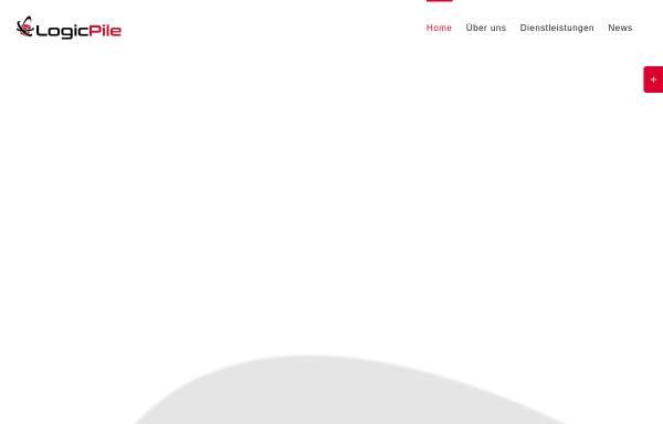 Vorschau von logicpile.de, LogicPile GmbH