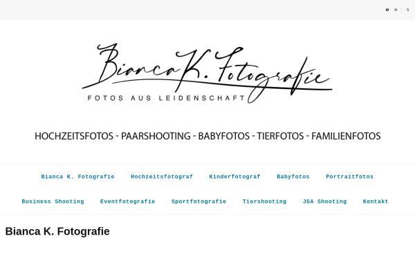 Vorschau von www.bianca-k-fotografie.de, Bianca K. Fotografie