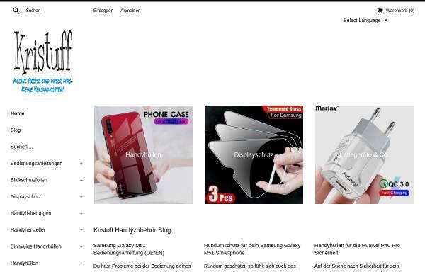 Vorschau von kristuff.com, Kristuff