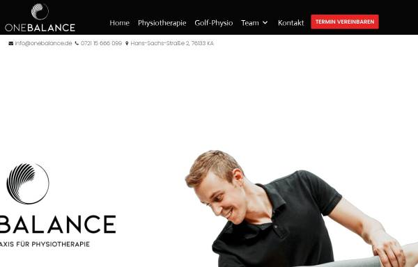 Vorschau von www.onebalance.de, One Balance