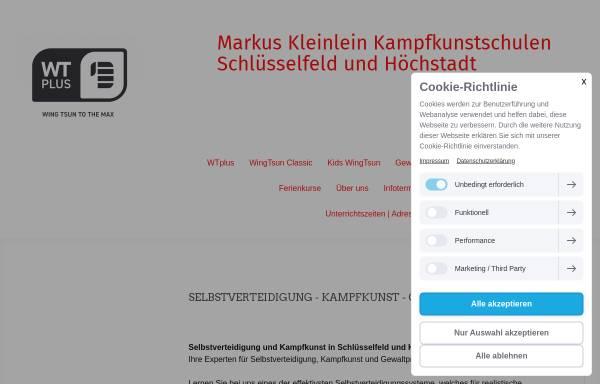 Vorschau von www.selbstverteidigung-hoechstadt.de, Markus Kleinlein WingTsun