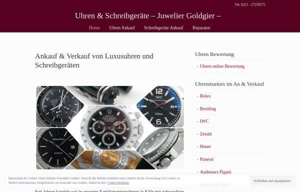 Vorschau von www.goldgier.de, Juwelier Goldgier