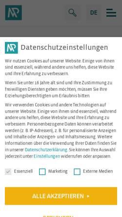 Vorschau der mobilen Webseite mp-trafo.de, MP GmbH