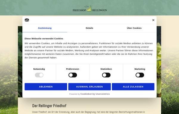 Vorschau von www.friedhof-rellingen.de, Friedhof Rellingen