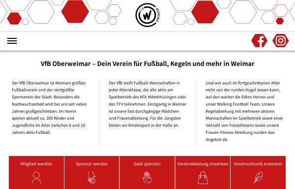 Vorschau von www.vfb-oberweimar.de, Oberweimar e.V.