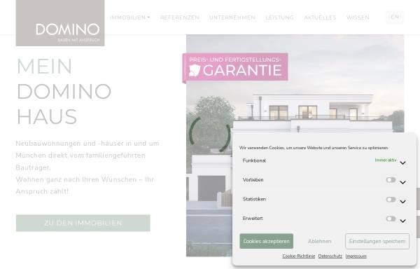 Vorschau von www.domino-bau.de, DOMINO Bau- und Handels GmbH