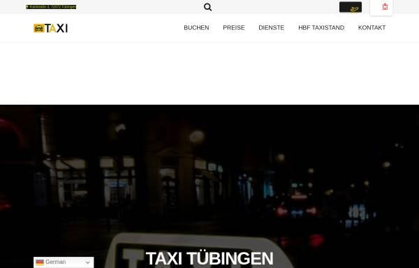 Vorschau von taxiintuebingen.de, Renna Taxi Tübingen