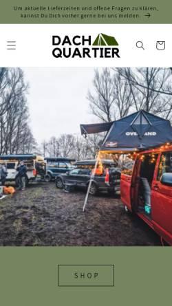 Vorschau der mobilen Webseite www.dachquartier.de, Dachquartier