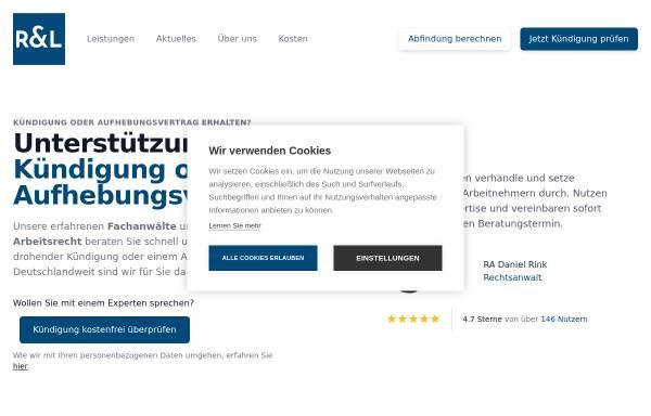 Vorschau von soforthilfe-arbeitsrecht.de, soforthilfe-arbeitsrecht