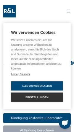 Vorschau der mobilen Webseite soforthilfe-arbeitsrecht.de, soforthilfe-arbeitsrecht
