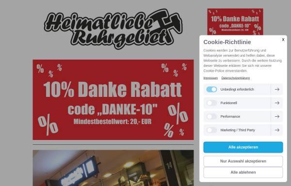 Vorschau von www.heimatliebe-ruhrgebiet.de, Heimatliebe Ruhrgebiet - FAN