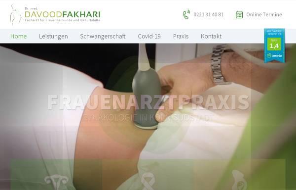 Vorschau von www.drfakhari.de, Frauenarzt Dr. Davood Fakhari