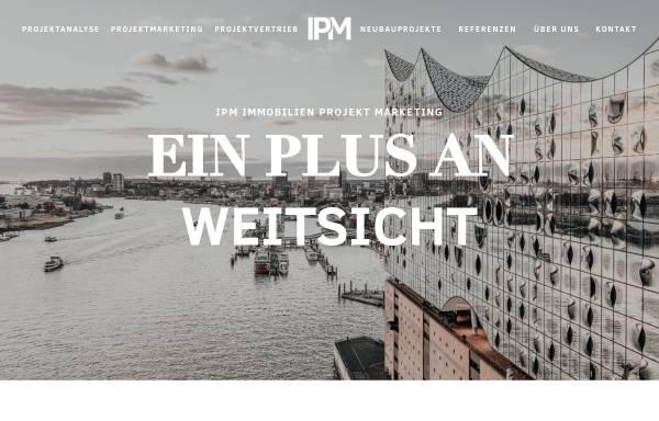 Vorschau von www.ipmimmobilien.de, IPM Immobilien Projekt Marketing GmbH
