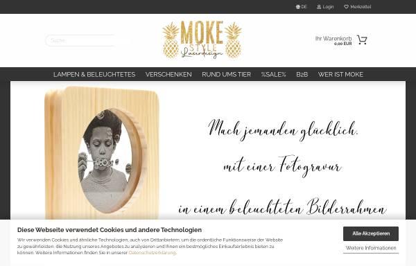 Vorschau von www.moke-style.de, MOKE Style Laserdesign