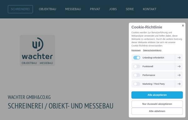 Vorschau von www.wachter-heidenheim.de, Wachter GmbH & Co.KG