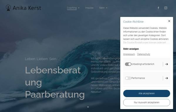 Vorschau von www.anikakerst.de, Anika Kerst - Lebens-, Paar- und Familienberatung