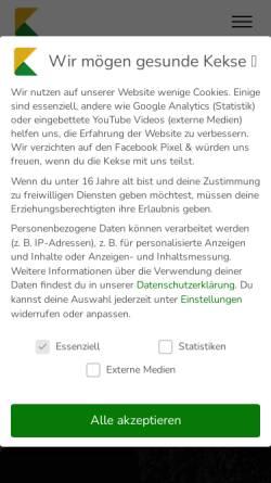 Vorschau der mobilen Webseite www.klickstream.de, Klickstream