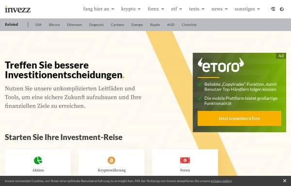 Vorschau von invezz.com, Invezz