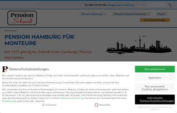 Vorschau von www.pension-schmidt.eu, Pension Schmidt