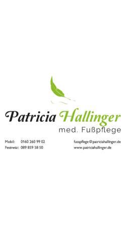 Vorschau der mobilen Webseite www.patriciahallinger.de, Patricia Hallinger