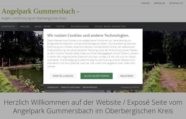 Vorschau von www.angelpark-gummersbach.de, Angelpark-Gummersbach