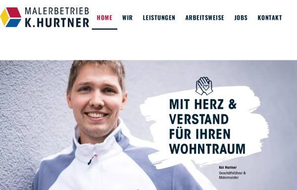 Vorschau von maler-hurtner.de, Malerbetrieb K. Hurtner GmbH