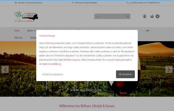 Vorschau von www.bellnaco.de, Bellnaco Lifestyle & Genuss