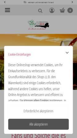 Vorschau der mobilen Webseite www.bellnaco.de, Bellnaco Lifestyle & Genuss