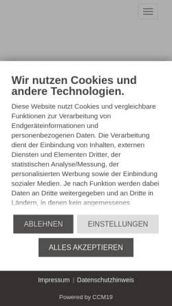 Vorschau der mobilen Webseite eltrik-grund.de, eltrik-grund GmbH & Co KG