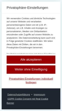 Vorschau der mobilen Webseite www.umzug-plus-hannover.de, UMZUG+ Hannover Hossein Khan