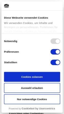 Vorschau der mobilen Webseite kreativertexter.de, KreativerTexter - Henrik Blaschke