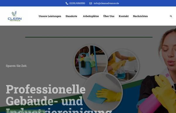 Vorschau von www.cleanadvance.de, Clean Advance