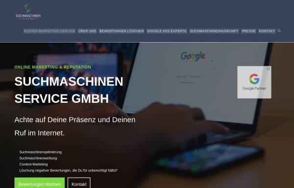 Vorschau von suchmaschinen-service-gmbh.de, Suchmaschinen Service GmbH