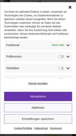 Vorschau der mobilen Webseite immobilienschuetz.de, Immobilien Schütz
