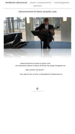 Vorschau der mobilen Webseite www.musikkontor-elbvororte.de, Musikkontor Elbvororte