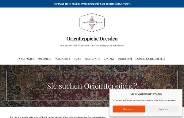 Vorschau von orientteppiche-dresden.de, Orientteppiche Dresden Maximilian Albrecht