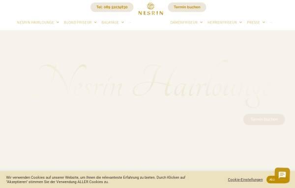 Vorschau von nesrinhairlounge.de, Nesrin Private Hairlounge